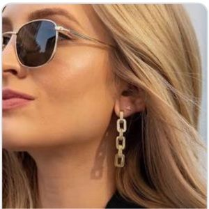 Eddie Borgo Supra Link Earrings